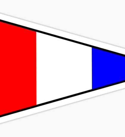 Number 3 Pennant Sticker