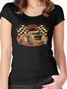 Cars n Rods on Pinterest Hot Rods Women's Fitted Scoop T-Shirt