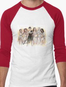 Furiosa and The Wives Men's Baseball ¾ T-Shirt