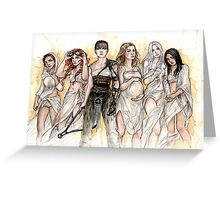 Furiosa and The Wives Greeting Card