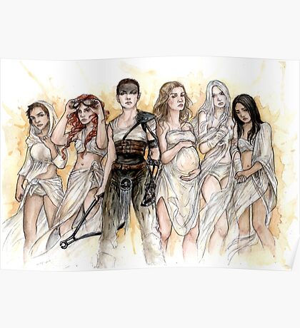 Furiosa and The Wives Poster