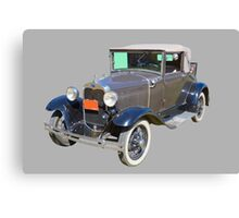 Model A Ford Roadster Convertible Antique Car Canvas Print