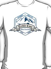 Treble Cone Ski Resort New Zealand T-Shirt