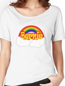 Bernie is Love Rainbow, Pride Week Swag, Feel the Bern unique Gifts Women's Relaxed Fit T-Shirt