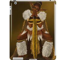 Zulu Warrior Elf iPad Case/Skin