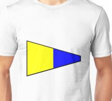 Number 5 Pennant Unisex T-Shirt