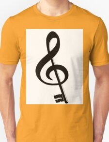 Violin key Unisex T-Shirt