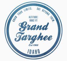 Grand Targhee Ski Resort Idaho Kids Tee