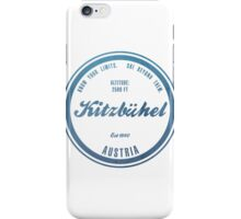 Kitzbuhel Ski Resort Austria iPhone Case/Skin