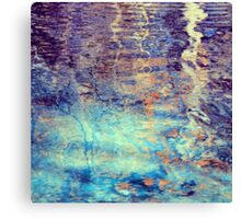 Texture of Water 1 Canvas Print