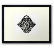 Mandala Nouveau Framed Print