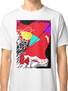 Playful  red design by Moma Classic T-Shirt