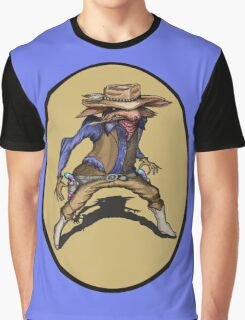 Cowboy Wolf   Graphic T-Shirt