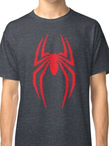 Spiderman Logo vintage style grain faded Classic T-Shirt