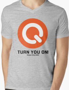 Turn you on qlass elite Mens V-Neck T-Shirt