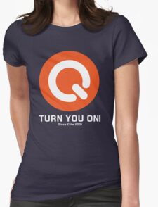 Turn you on qlass elite Womens Fitted T-Shirt