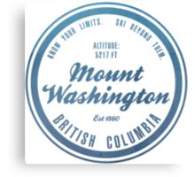 Mount Washington Ski Resort British Columbia Canvas Print