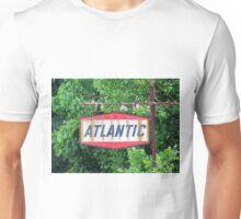 Old Gas Station Sign Unisex T-Shirt