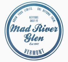 Mad river Glen Ski Resort Vermont Kids Tee