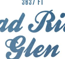 Mad river Glen Ski Resort Vermont Sticker