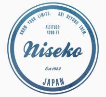 Niesko Ski Resort Japan Kids Tee