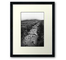 Rocky Path - Yorkshire Framed Print