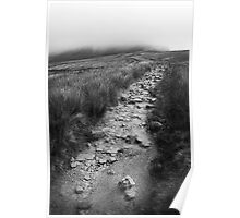 Rocky Path - Yorkshire Poster