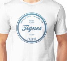 Tignes Ski Resort France Unisex T-Shirt