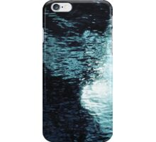 Teal Underwater Scene 8 iPhone Case/Skin