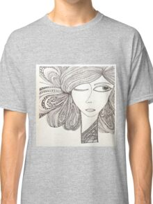 A girl in the city... Classic T-Shirt