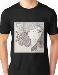 A girl in the city... Unisex T-Shirt