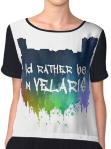 I'd Rather Be In Velaris Chiffon Top