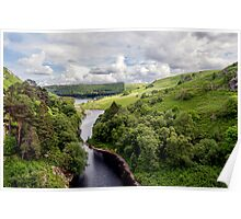 Wales, Pen Y Garreg Poster