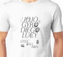 Part 7 Steel Ball run Unisex T-Shirt