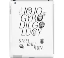 Part 7 Steel Ball run iPad Case/Skin