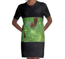 Self Heal Graphic T-Shirt Dress