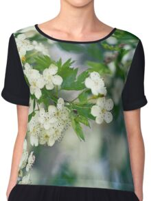When trees are in bloom Chiffon Top
