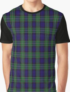 01175 Morning Metal Jacket Fashion Tartan Graphic T-Shirt