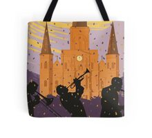New Orleans The Big Easy Vintage Travel Poster Tote Bag