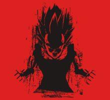 Angry Saiyan by ninjahideout