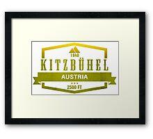 Kitzbuhel Ski Resort Austria Framed Print