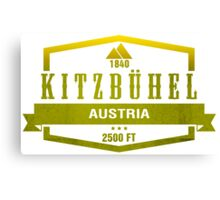 Kitzbuhel Ski Resort Austria Canvas Print
