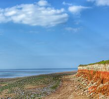 Old Hunstanton Beach Norfolk by JayFarrell