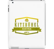 Kitzbuhel Ski Resort Austria iPad Case/Skin