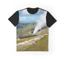 Snowdon Mountain Railway Graphic T-Shirt