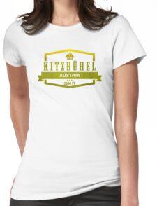 Kitzbuhel Ski Resort Austria Womens Fitted T-Shirt
