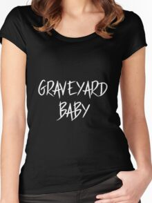 GRAVEYARD BABY Women's Fitted Scoop T-Shirt