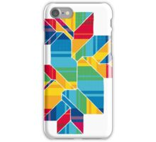 Geometric Art - Colorful Roof 1 iPhone Case/Skin