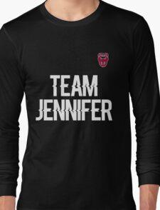 Team Jennifer Long Sleeve T-Shirt
