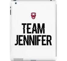 Team Jennifer iPad Case/Skin